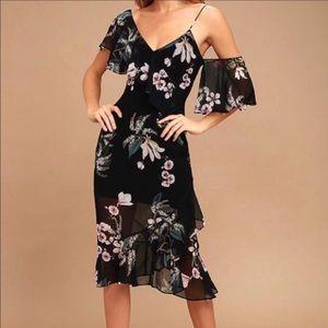 Keepsake floral print dress
